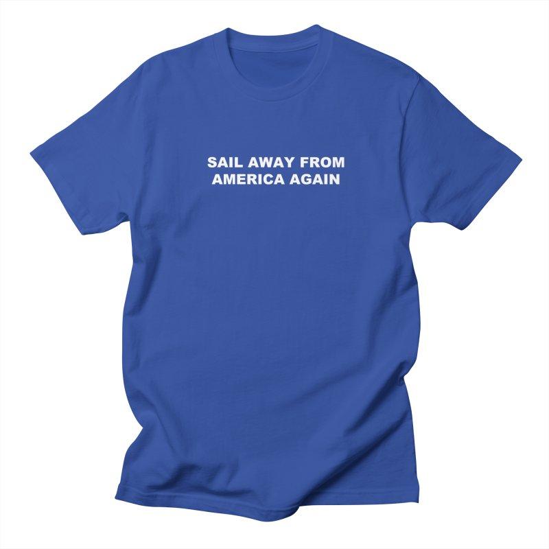 Sail Away Men's Regular T-Shirt by Sailor James