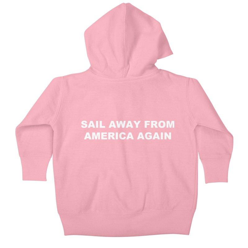 Sail Away Kids Baby Zip-Up Hoody by Sailor James