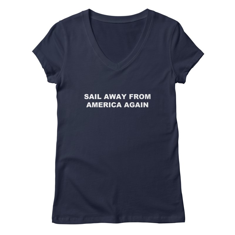 Sail Away Women's Regular V-Neck by Sailor James
