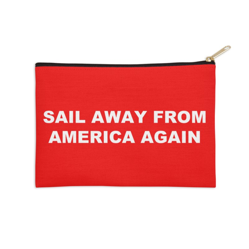 Sail Away Accessories Zip Pouch by Sailor James