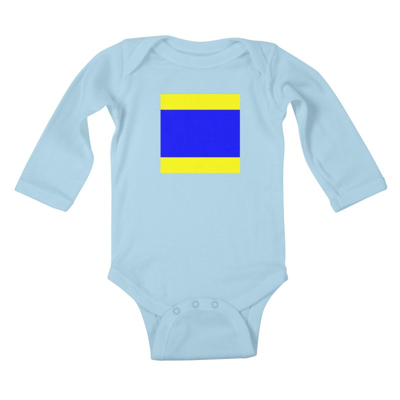 Delta AKA Case of the Mondays  Kids Baby Longsleeve Bodysuit by Sailor James