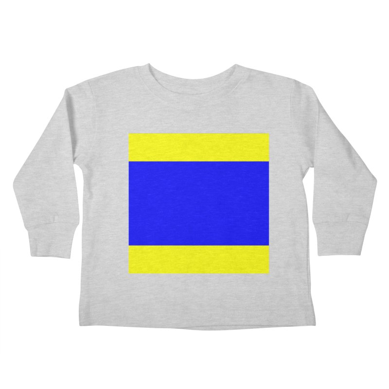 Delta AKA Case of the Mondays  Kids Toddler Longsleeve T-Shirt by Sailor James