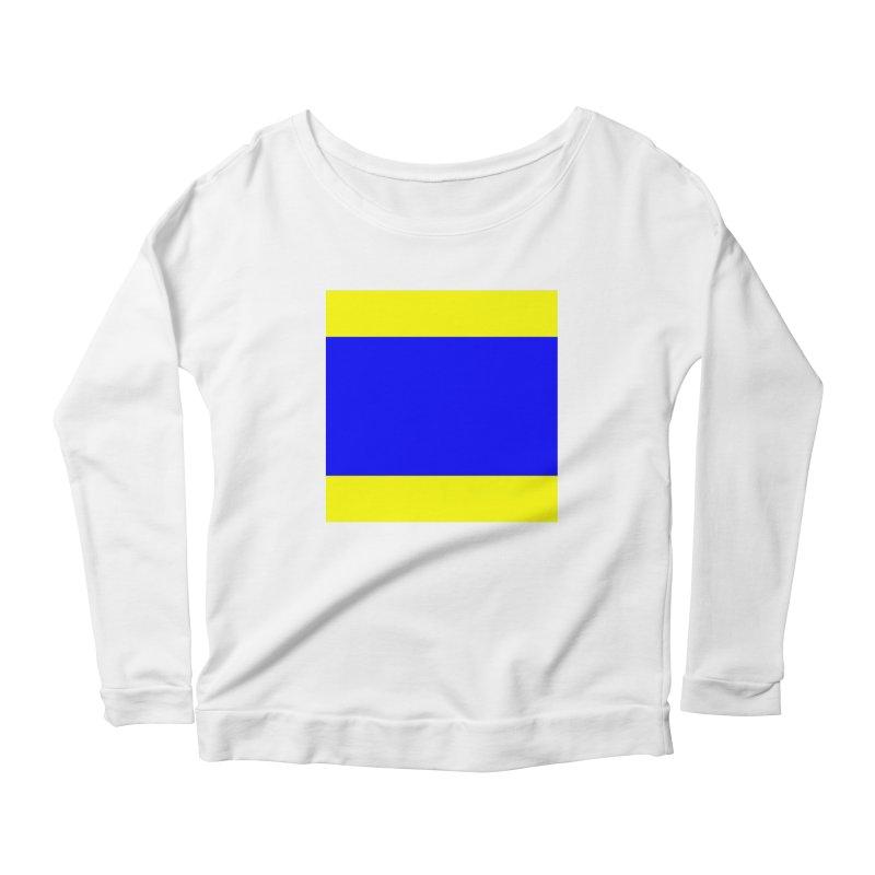 Delta AKA Case of the Mondays  Women's Scoop Neck Longsleeve T-Shirt by Sailor James