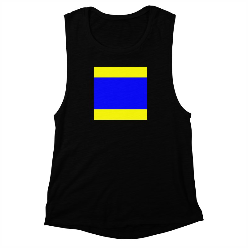 Delta AKA Case of the Mondays  Women's Muscle Tank by Sailor James