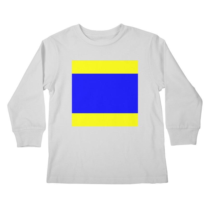 Delta AKA Case of the Mondays  Kids Longsleeve T-Shirt by Sailor James