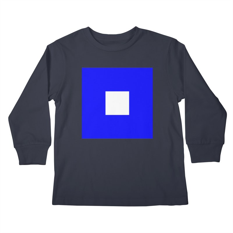 About to Sail Kids Longsleeve T-Shirt by Sailor James