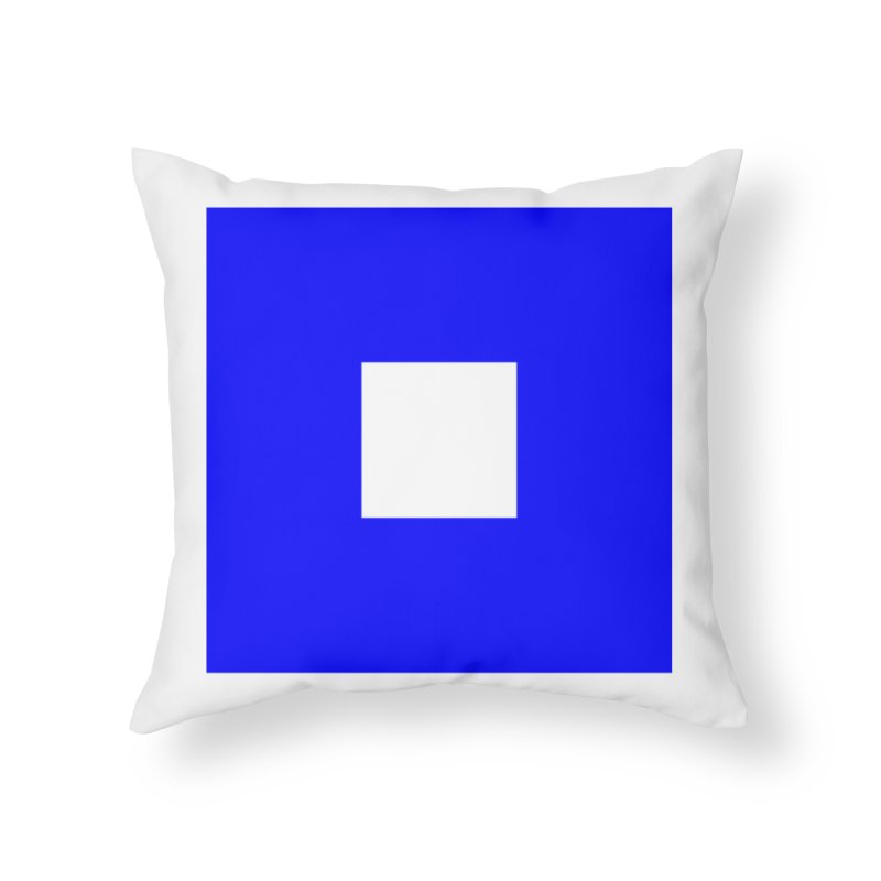 About to Sail Home Throw Pillow by Sailor James
