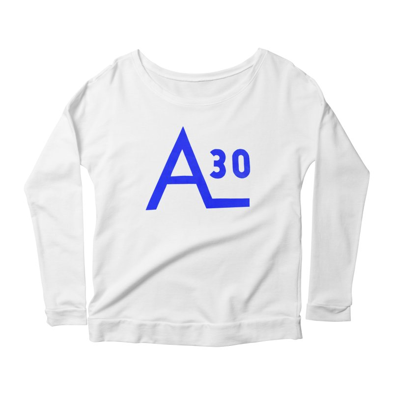 Alberg 30 Women's Scoop Neck Longsleeve T-Shirt by Sailor James