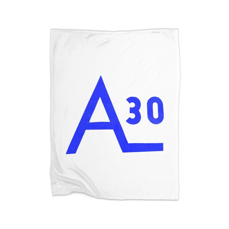 Alberg 30 Home Fleece Blanket Blanket by Sailor James