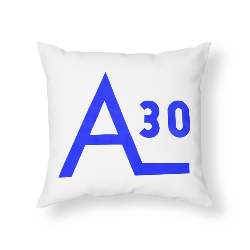 Alberg 30 Home Throw Pillow by Sailor James