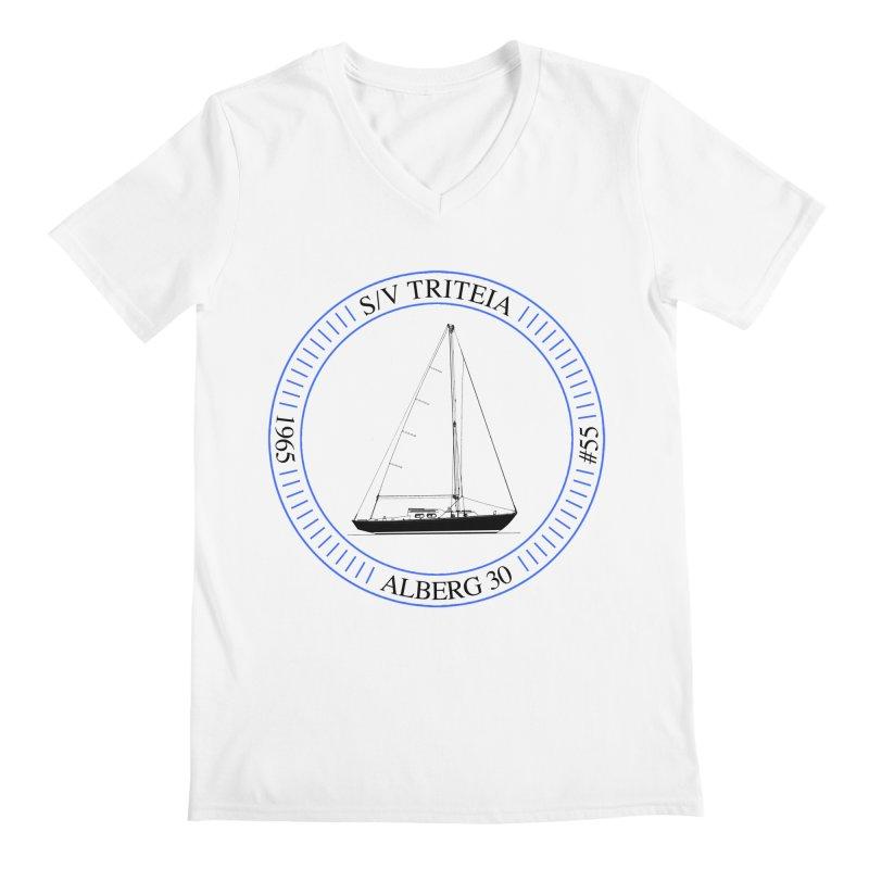 SV Triteia Men's V-Neck by Sailor James