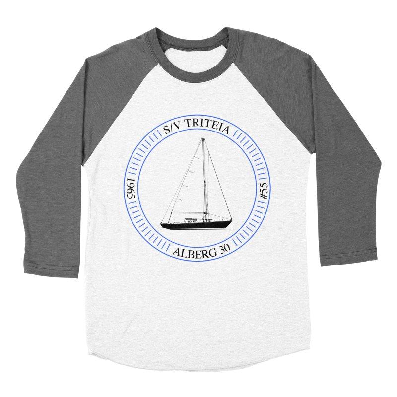 SV Triteia Men's Baseball Triblend Longsleeve T-Shirt by Sailor James