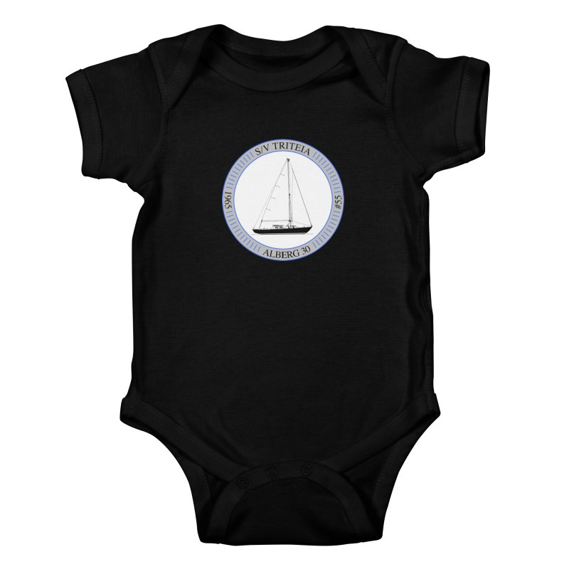 SV Triteia Kids Baby Bodysuit by Sailor James