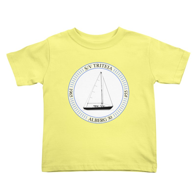 SV Triteia Kids Toddler T-Shirt by Sailor James