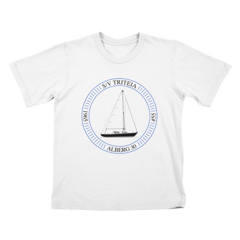 SV Triteia Kids T-Shirt by Sailor James