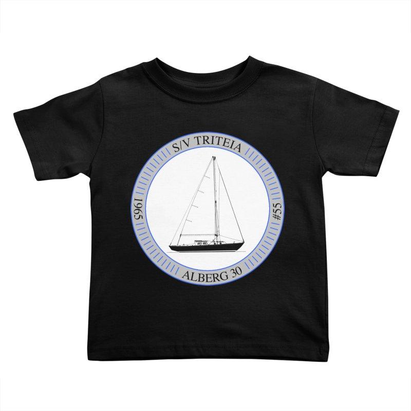 SV Triteia Kids Toddler T-Shirt by Sailor James