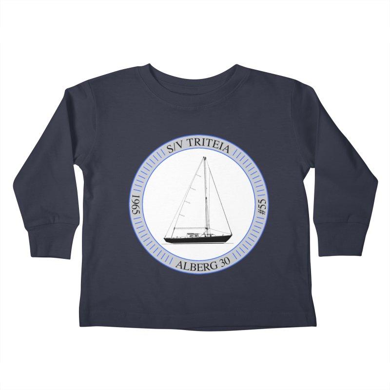 SV Triteia Kids Toddler Longsleeve T-Shirt by Sailor James
