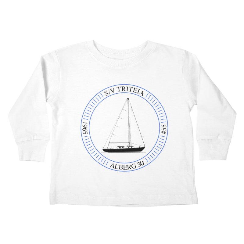 SV Triteia Kids Toddler Longsleeve T-Shirt by Sailor James