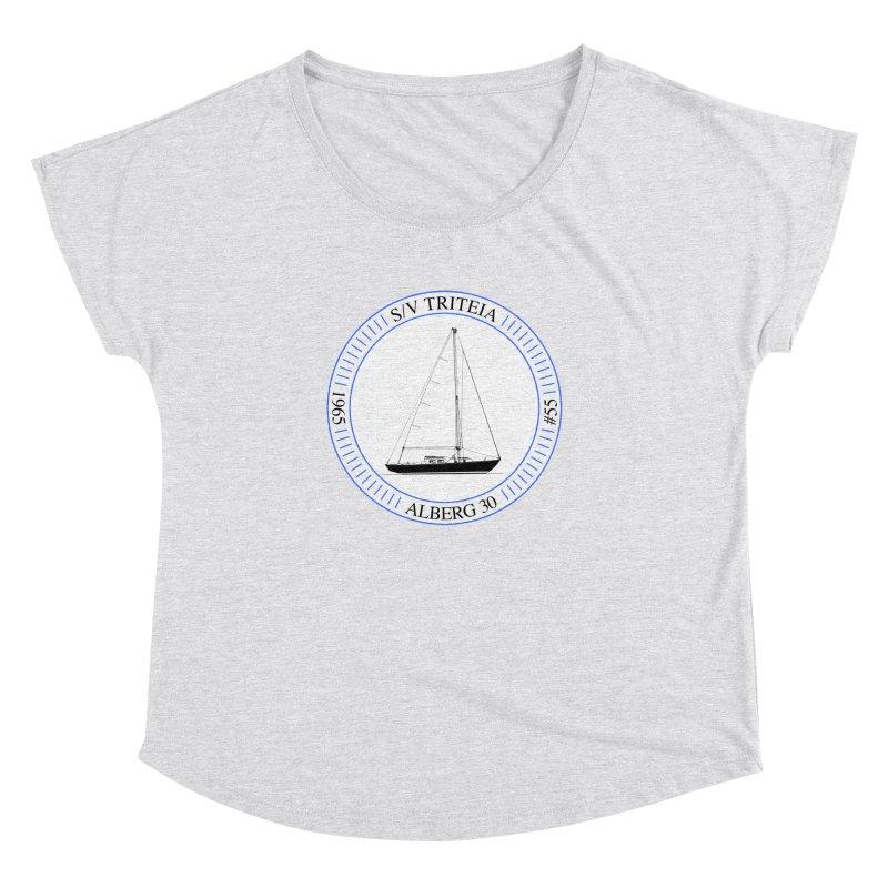 SV Triteia Women's Dolman Scoop Neck by Sailor James