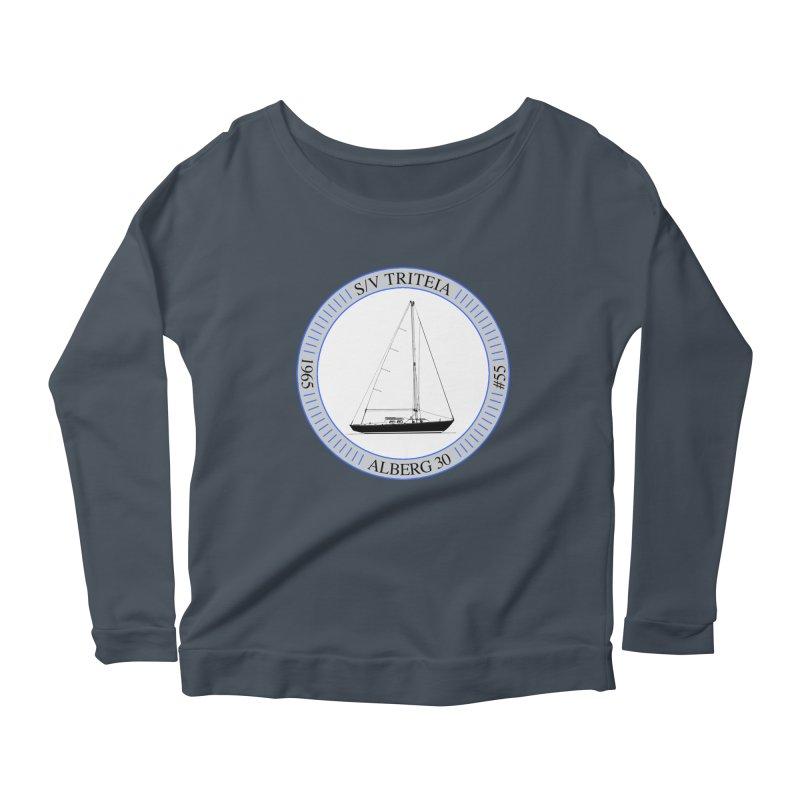 SV Triteia Women's Scoop Neck Longsleeve T-Shirt by Sailor James