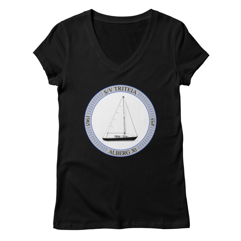 SV Triteia Women's Regular V-Neck by Sailor James