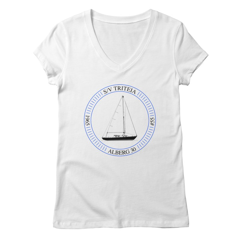 SV Triteia Women's Regular V-Neck by Sailor James
