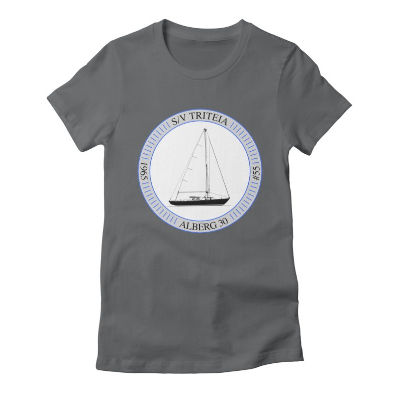 SV Triteia Women's Fitted T-Shirt by Sailor James