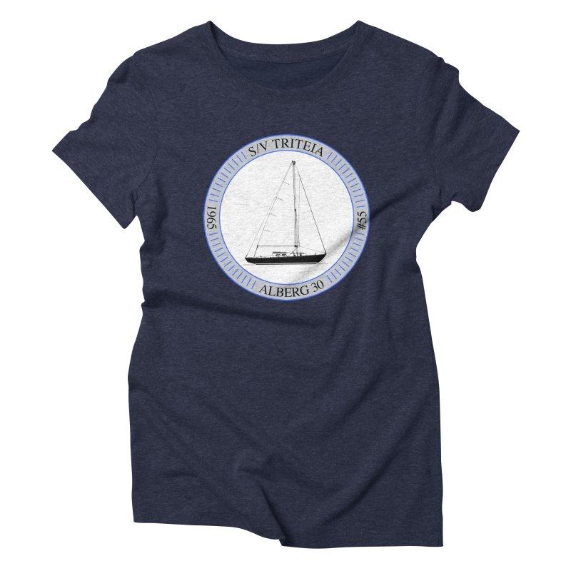 SV Triteia Women's Triblend T-Shirt by Sailor James