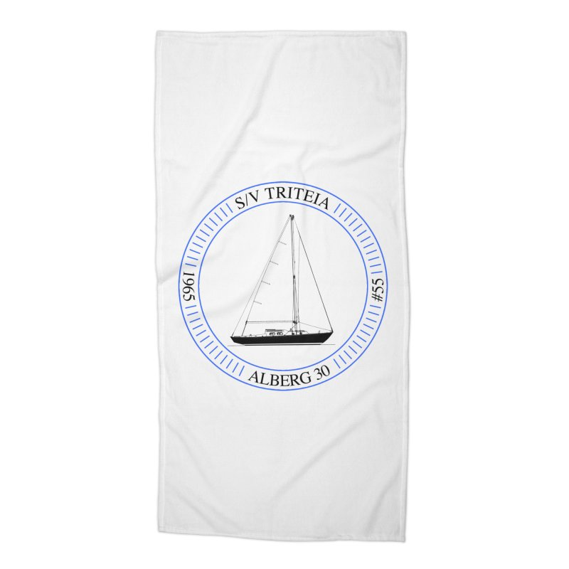 SV Triteia Accessories Beach Towel by Sailor James