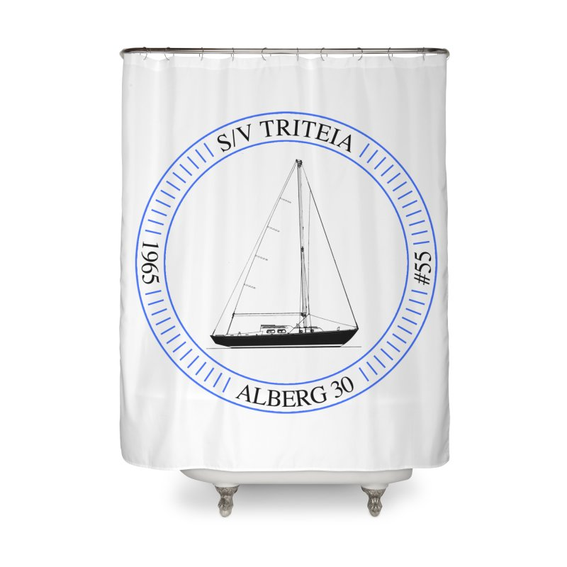 SV Triteia Home Shower Curtain by Sailor James
