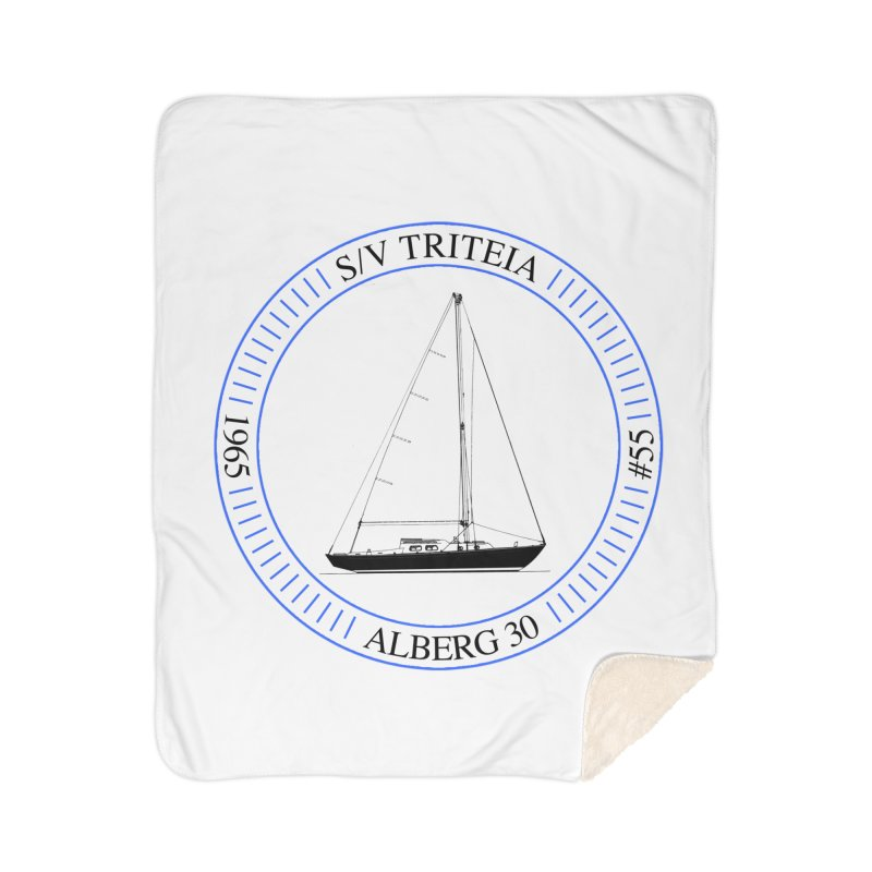 SV Triteia Home Sherpa Blanket Blanket by Sailor James