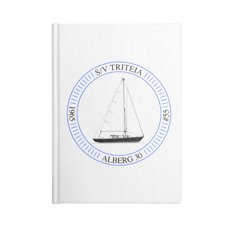 SV Triteia Accessories Lined Journal Notebook by Sailor James