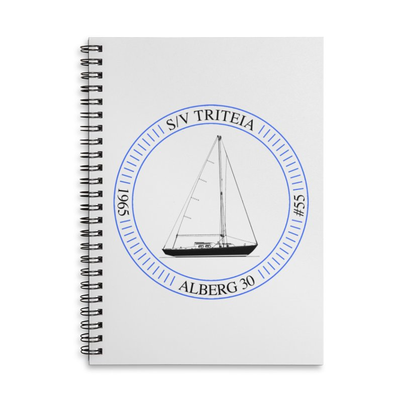 SV Triteia Accessories Lined Spiral Notebook by Sailor James