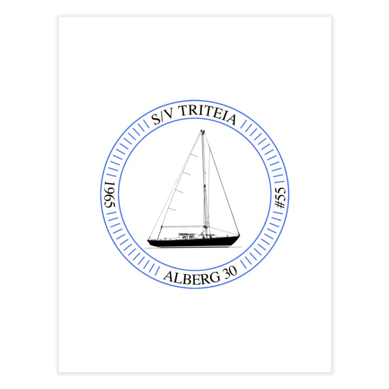 SV Triteia Home Fine Art Print by Sailor James