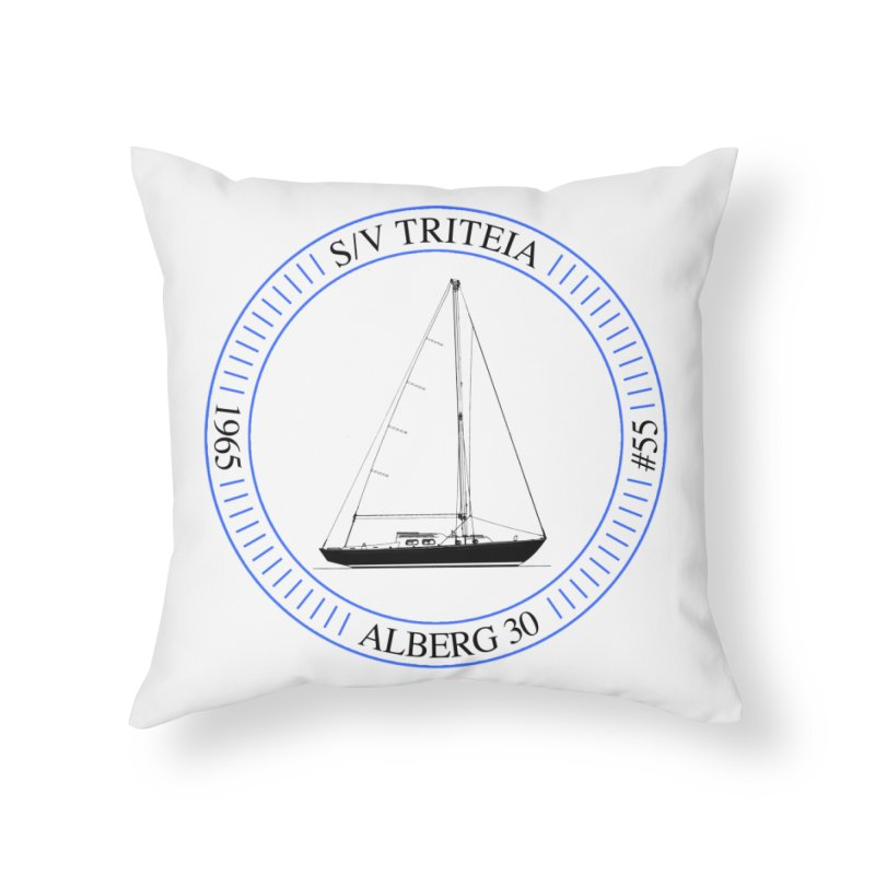 SV Triteia Home Throw Pillow by Sailor James