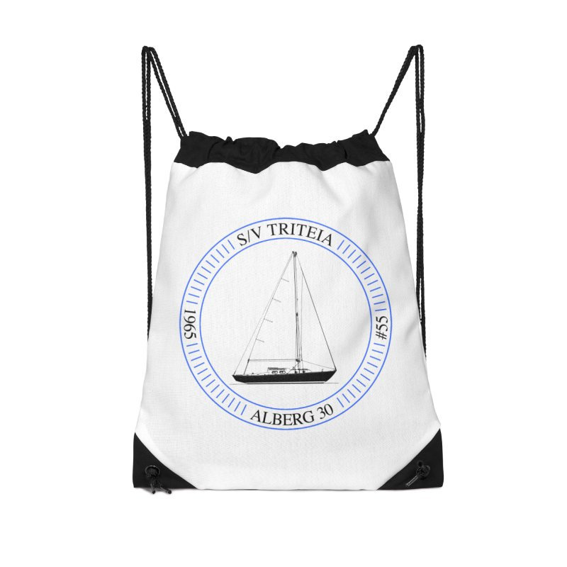 SV Triteia Accessories Drawstring Bag Bag by Sailor James
