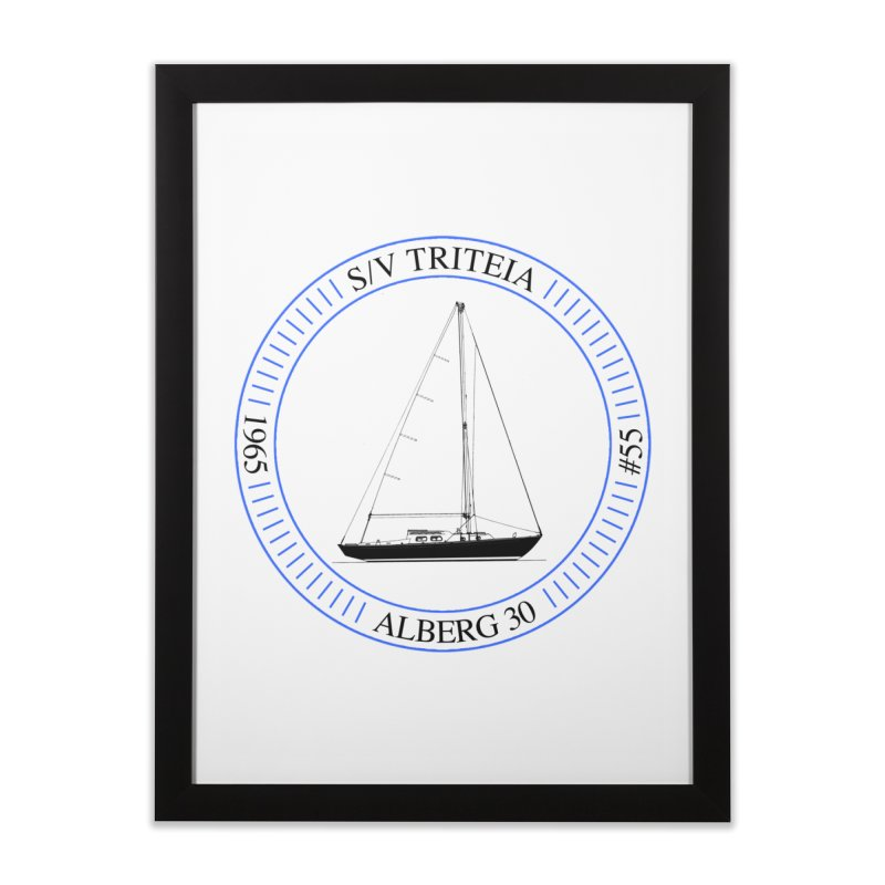 SV Triteia Home Framed Fine Art Print by Sailor James