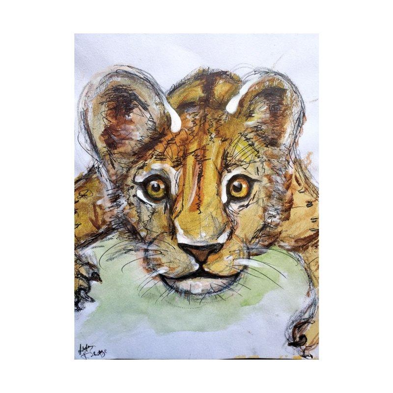 Lion Cub Men's Tank by AlmaT's Artist Shop