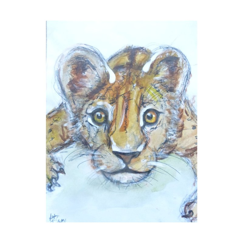 Lion Cub by AlmaT's Artist Shop