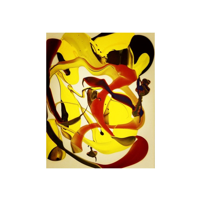 Yellow Dive by AlmaT's Artist Shop
