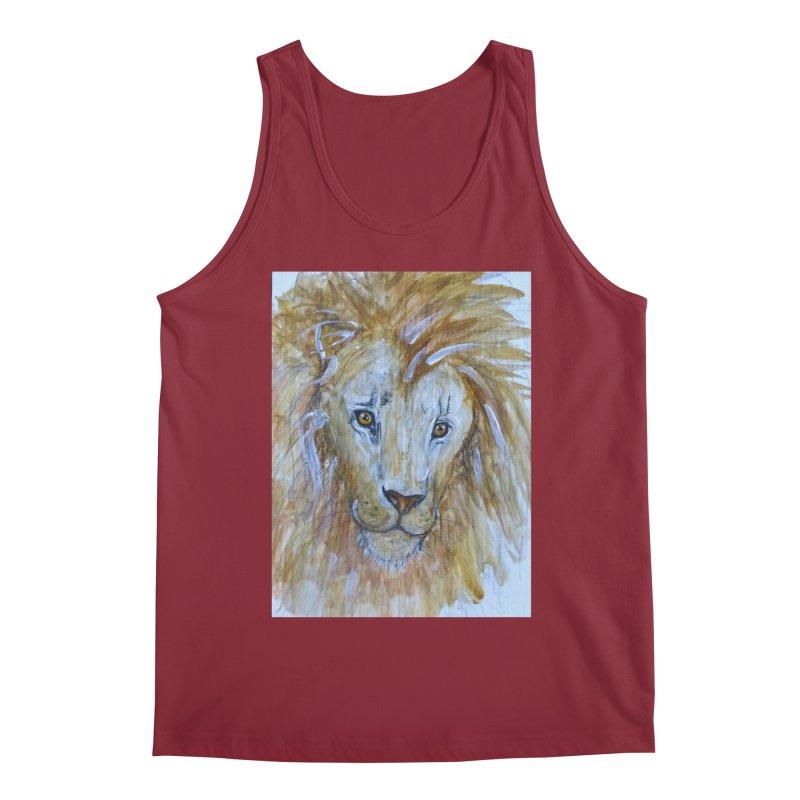 Lion Men's Tank by AlmaT's Artist Shop