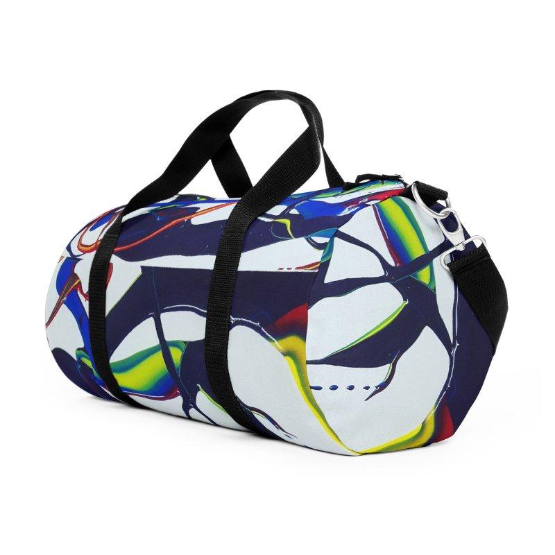 Feel the Rhythm Accessories Duffel Bag Bag by AlmaT's Artist Shop