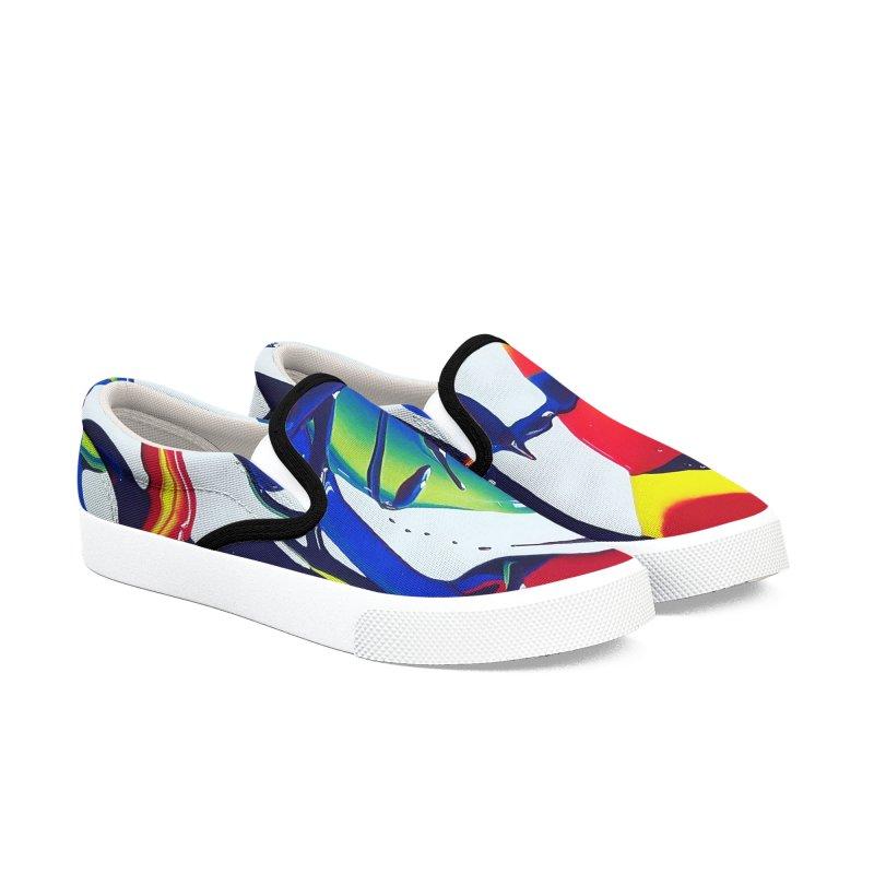 Feel the Rhythm Women's Slip-On Shoes by AlmaT's Artist Shop