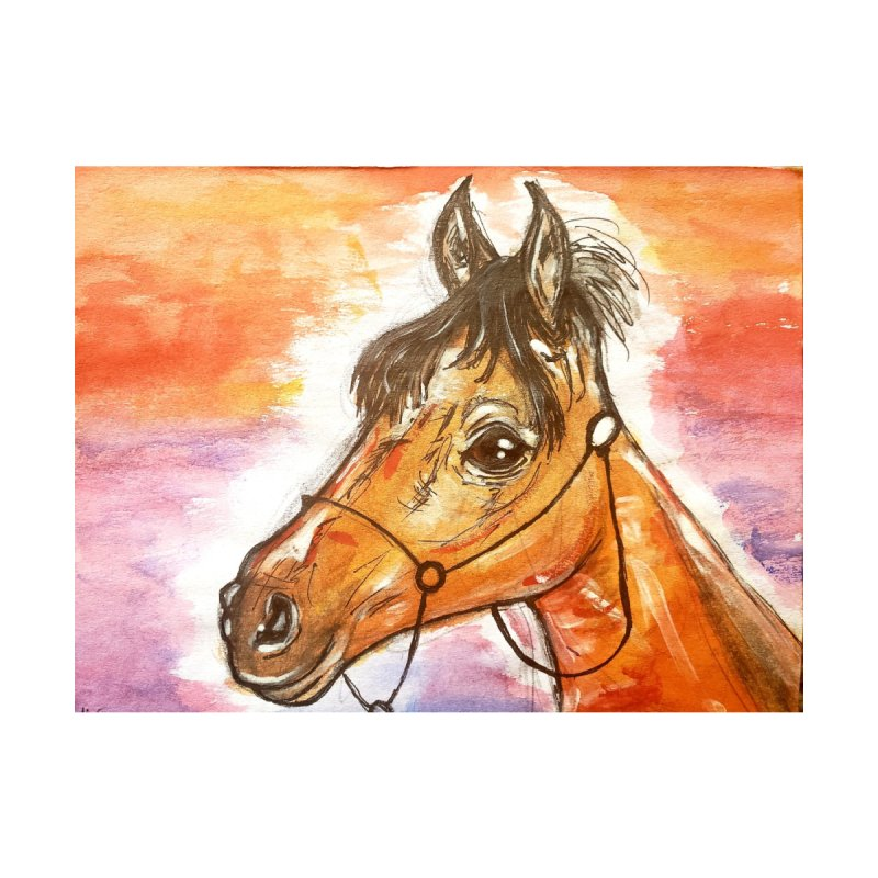 Horse Lovers by AlmaT's Artist Shop