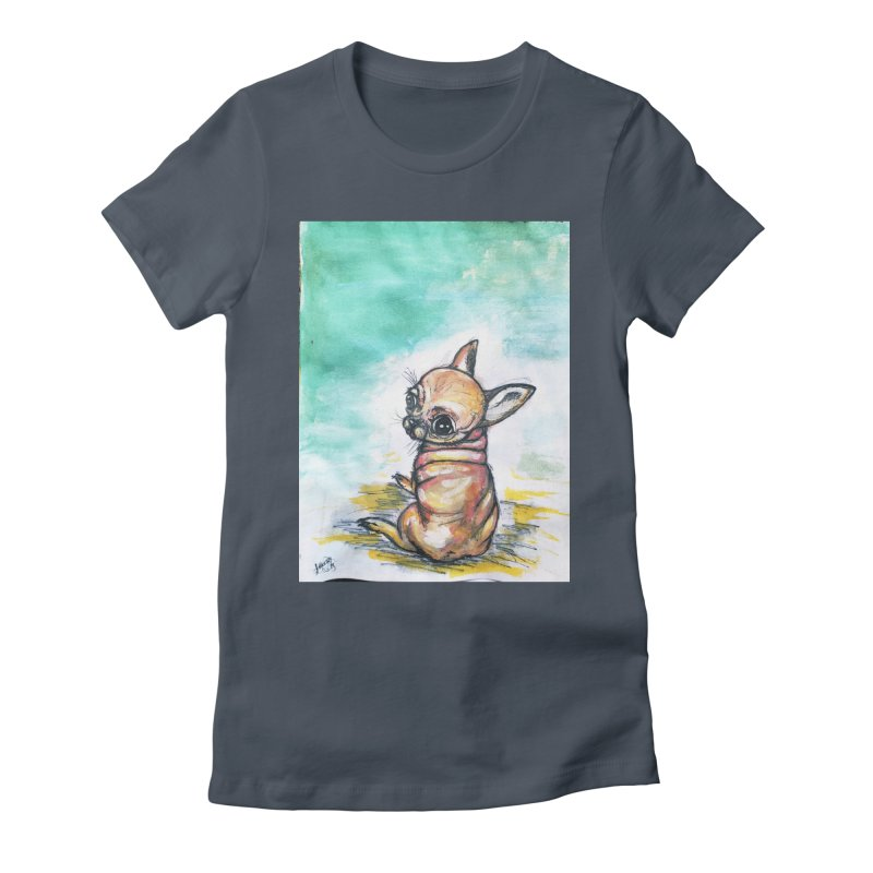 Baby Chihuahua Women's T-Shirt by AlmaT's Artist Shop