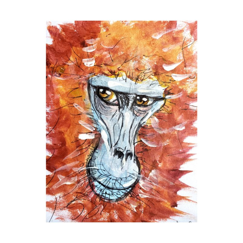 Gelada Monkey by AlmaT's Artist Shop