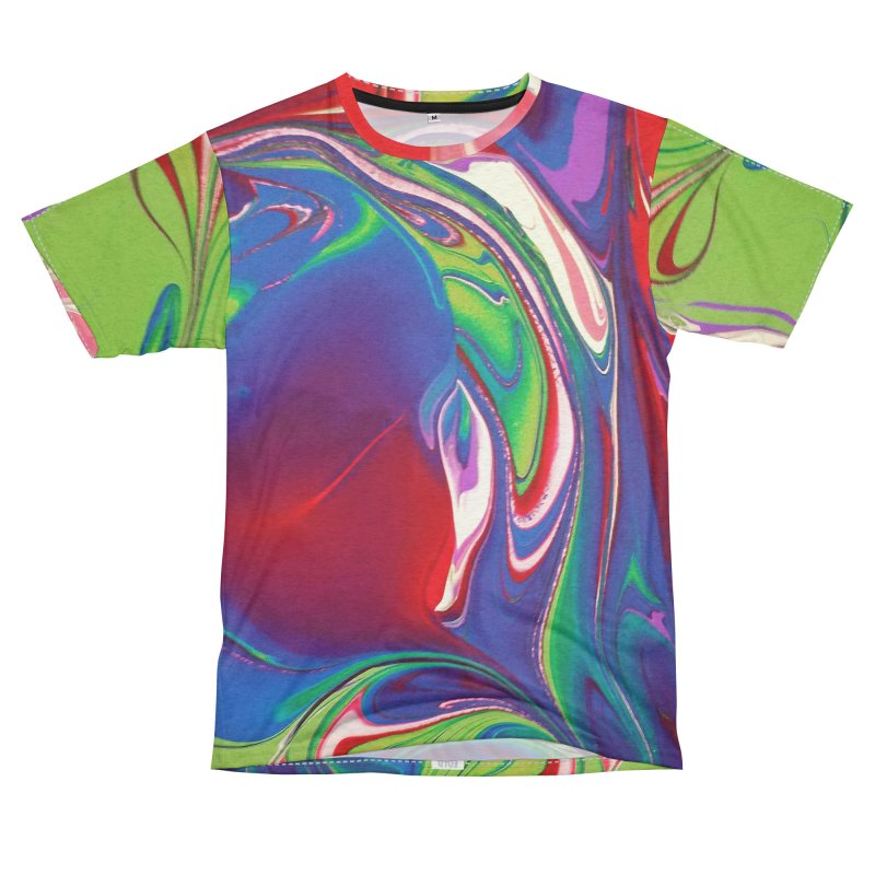 Water Drop Women's Unisex French Terry T-Shirt Cut & Sew by AlmaT's Artist Shop