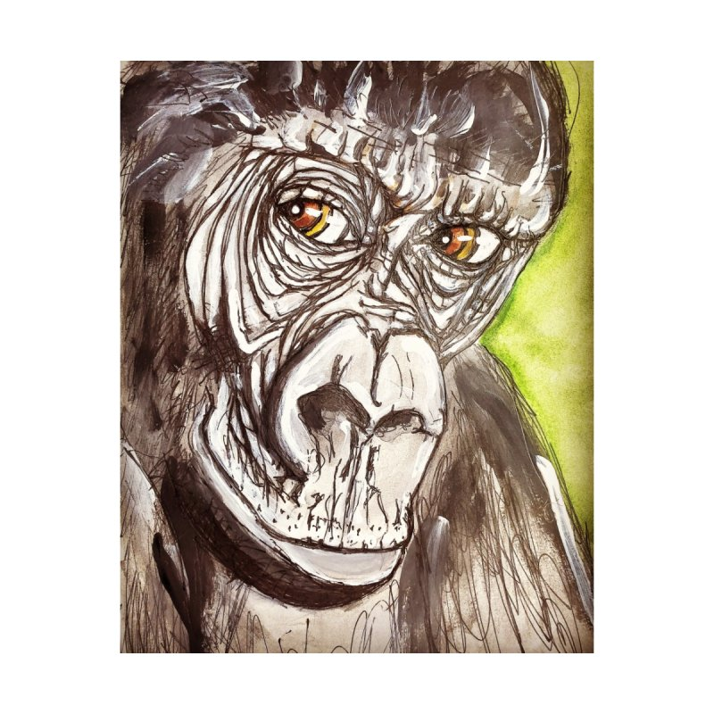 Gorilla Accessories Neck Gaiter by AlmaT's Artist Shop