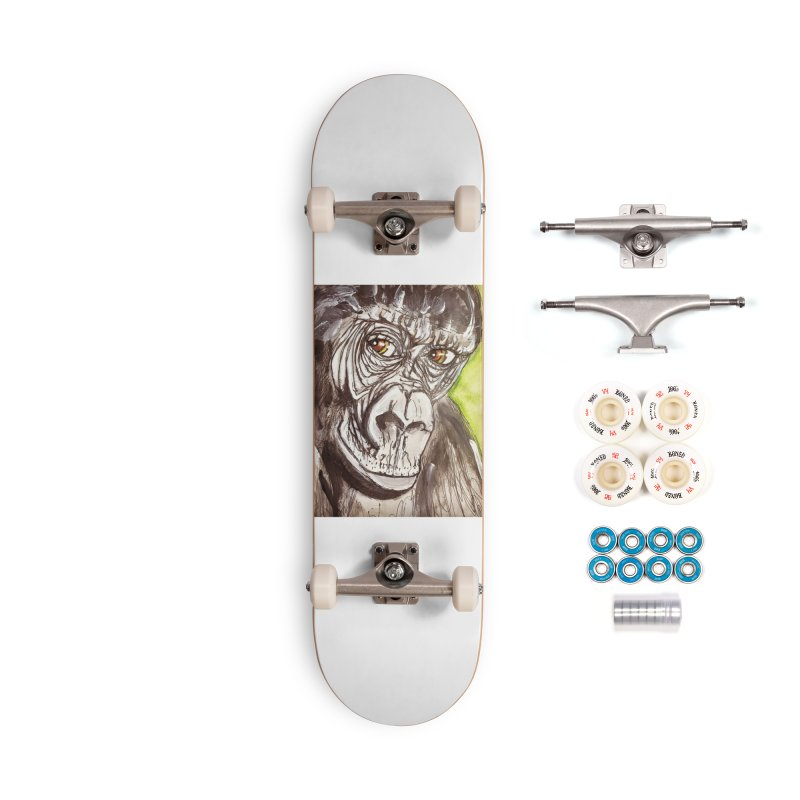 Gorilla Accessories Complete - Premium Skateboard by AlmaT's Artist Shop