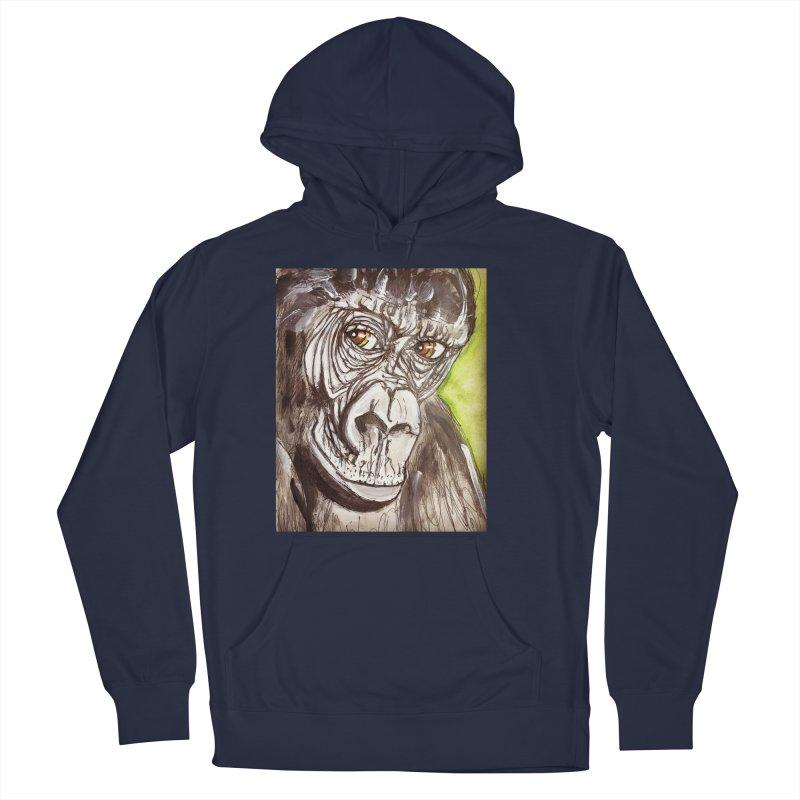 Gorilla Men's Pullover Hoody by AlmaT's Artist Shop